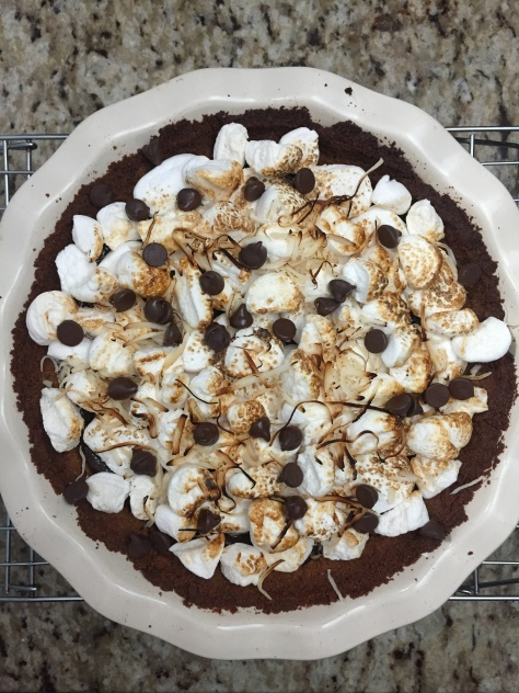 Two Carolines S'mores Pie