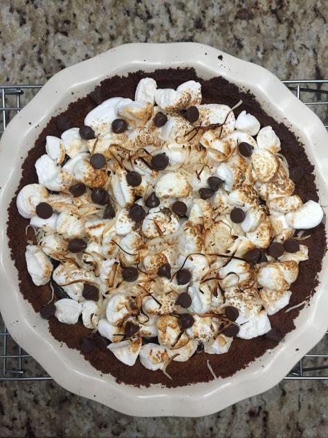Two Carolines S'mores Pie